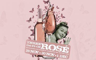 November through Rosé coloured glasses